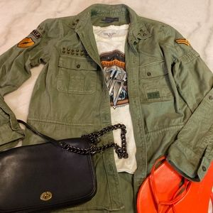 Kendall & Kyle Military Jacket